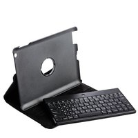 Клавиатура для iPad 4 / 3 / 2 Mobile LAB bluetooth keyboard черная