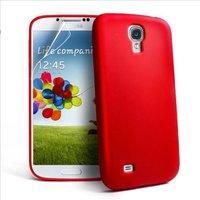 Силиконовый чехол для Samsung Galaxy S5 красный - Slim Silicone Case Red