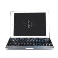 Клавиатура для iPad 5 с русскими буквами - Bluetooth keyboard case - черная