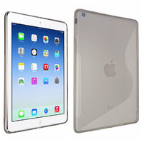 Чехол силиконовый для iPad Air 5 - S Style Case Grey - серый
