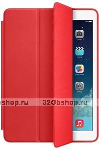 Чехол обложка Smart Case White для iPad Air 2 красный
