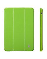 Кожаный чехол Jisoncase Executive для iPad Air 5 зеленый