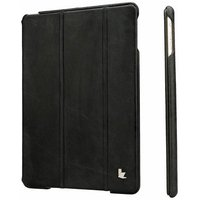Чехол из натуральной кожи для iPad Air 5 - Jisoncase PREMIUM Black - черный