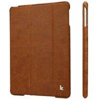 Чехол из натуральной кожи для iPad Air 5 - Jisoncase PREMIUM Brown - коричневый