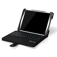 Чехол клавиатура для iPad Air c русскими буквами Bluetooth Case Black