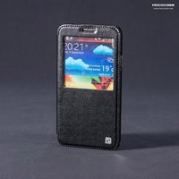 Кожаный чехол для Samsung Galaxy Note 3 N9000 черный  - HOCO Leather Case Black