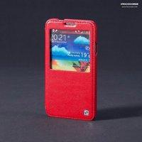 Кожаный чехол для Samsung Galaxy Note 3 N9000 красный - HOCO Leather Case Red