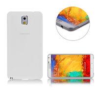 Ультратонкий чехол для Samsung Galaxy Note 3 N9000 белый матовый 0.3mm Ultra Thin Soft White Case