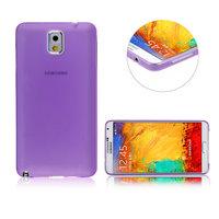 Ультратонкий чехол для Samsung Galaxy Note 3 N9000 фиолетовый матовый 0.3mm Ultra Thin Matte purple Case