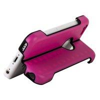 Чехол подставка для iPhone 5c розовый - Foldable Stand Case for iPhone 5c Pink