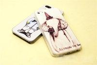 Чехол накладка для iphone 5 / 5s / SE elephant