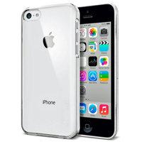 Чехол накладка для iPhone 5c прозрачный пластик