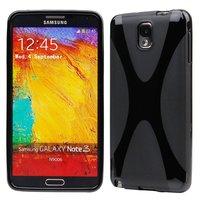 Силиконовый чехол X Style Case для Samsung Galaxy Note 3 N9000 черный