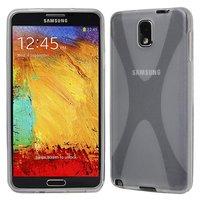 Силиконовый чехол X Style Case для Samsung Galaxy Note 3 N9000 прозрачный