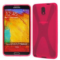 Силиконовый чехол X Style Case для Samsung Galaxy Note 3 N9000 розовый