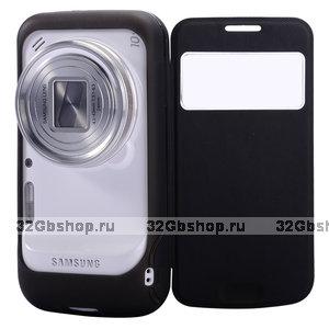 Чехол футляр книга Baseus для Samsung SM-C101 Galaxy S4 Zoom с окном New Age черный