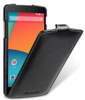 Кожаный чехол Melkco для Google Nexus 5 черный - Melkco Leather Case Jacka Type Black LC