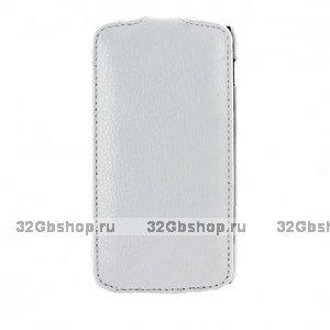 Чехол книжка Art Case для Google Nexus 5 белый