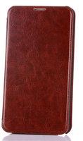 Коричневый чехол книжка для Samsung Galaxy Note 3 N9000 с карманом для карточек - Wallet Book Card Case Brown