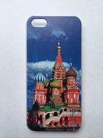 Чехол накладка для iPhone 5s / SE / 5 Храм Василия Блаженного