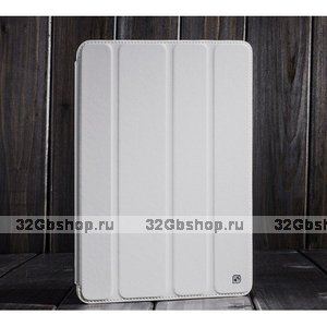 Кожаный чехол HOCO для iPad Air (iPad5) белый - HOCO Crystal Leather Case for iPad Air White