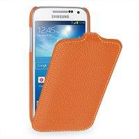 Чехол книжка Art Case для Samsung Galaxy S4 mini i9190 оранжевый