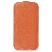 Чехол футляр-книга Art case для Samsung Galaxy S4 оранжевый