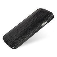 Чехол футляр-книга Art case для Samsung Galaxy S4 черный крокодил