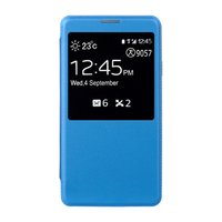 Чехол-обложка S View Cover для Samsung Galaxy Note 3 N9000 синий чехол с окошком