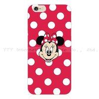 Чехол накладка для iPhone 5s / SE / 5 Minnie Mouse