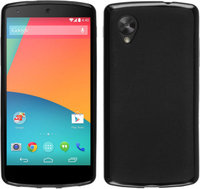Силиконовый чехол для Google Nexus 5 черный