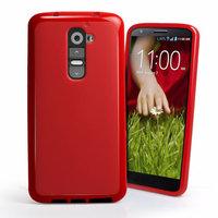Красный силиконовый чехол для LG G2 D802