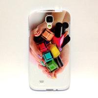 Чехол силиконовый для Samsung Galaxy S4 лак для ноктей в руках