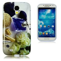 Чехол силиконовый для Samsung Galaxy S4 парфюм и розы