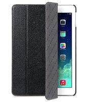 Кожаный чехол Melkco для iPad Air черный - Melcko Leather Case Slimme Cover Black LC
