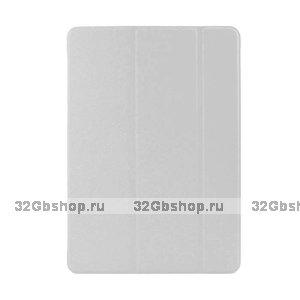 Чехол обложка для iPad Air белый - Smart Slim Case White