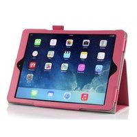 Чехол книга Mobi Cover Smart для iPad Air 5 ярко-розовый