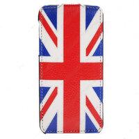 Чехол книга Art Case для iPhone 5/5s / SE флаг Великобритании