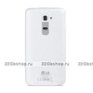 Ультратонкая прозрачная накладка Melkco для LG Optimus G2 D802 Ultra thin Air PP case 0.4mm Transparent