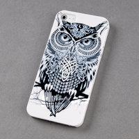 Чехол накладка для iPhone 5s / SE / 5 Сова
