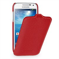 Чехол книжка Art Case для Samsung Galaxy S4 mini i9190 красный