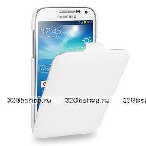 Чехол книжка Art Case для Samsung Galaxy S4 mini i9190 белый