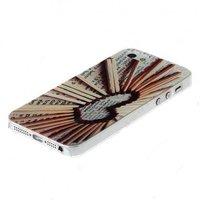 Чехол накладка для iPhone 5 / 5s / SE сердечки спички