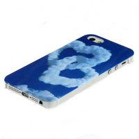 Чехол накладка для iPhone 5 / 5s / SE сердечки облака