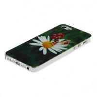 Чехол накладка для iPhone 5 / 5s / SE ромашки