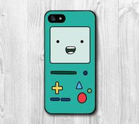 Чехол накладка для iPhone 5 / 5s / SE Adventure Time Бимо