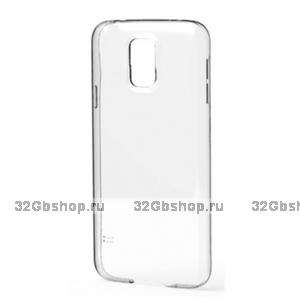 Пластиковый чехол для Samsung Galaxy S5 прозрачный
