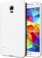 Ультратонкий чехол для Samsung Galaxy S5 i9600 белый - Ultra Thin White Case for Samsung S5