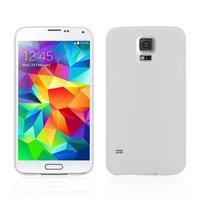 Ультратонкий чехол для Samsung Galaxy S5 mini белый - Ultra Thin White Case