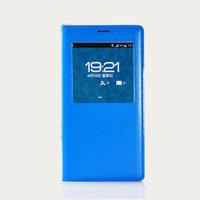 Чехол с окном S View Cover Blue для Samsung Galaxy S5 голубой